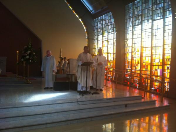 Fr. Arthur, Fr. Brendan and Fr. Philip