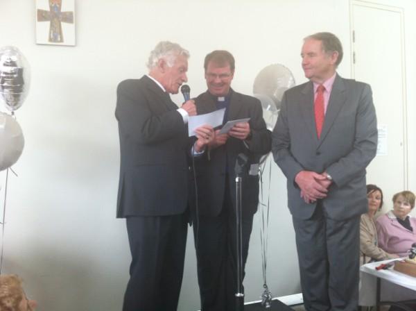 Paddy Drennan, Fr. Brendan and John Shortt