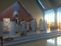 Mass was Celebrated by Fr. Brendan, Fr. Philip, Fr